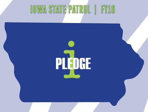 Ipledge state patrol cover