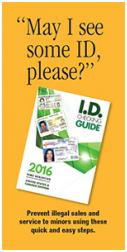 I.D. Checking Guide informational brochure